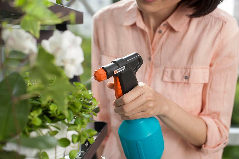 Gardena comfort plantenspuit met nevelfunctie - verkrijgbaar bij Marvy Green