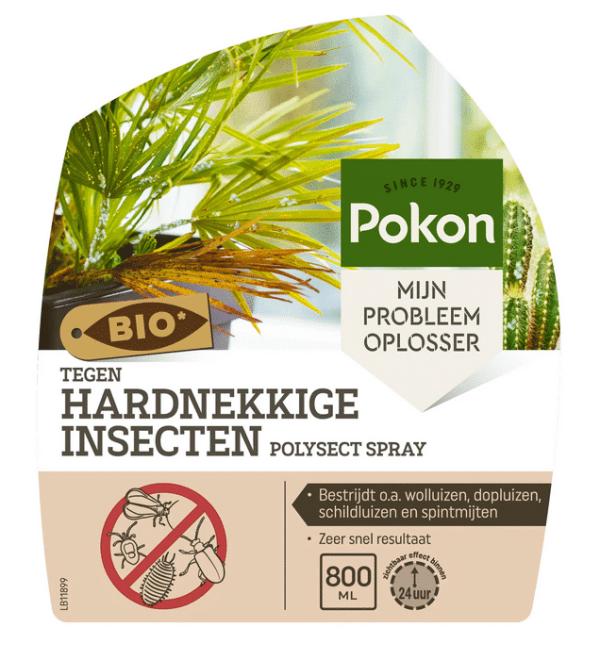 Bio Tegen Hardnekkige Insecten polysect spray 800ml Label