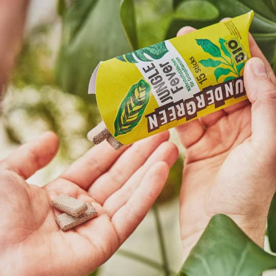 Plantenvoeding in vaste vorm