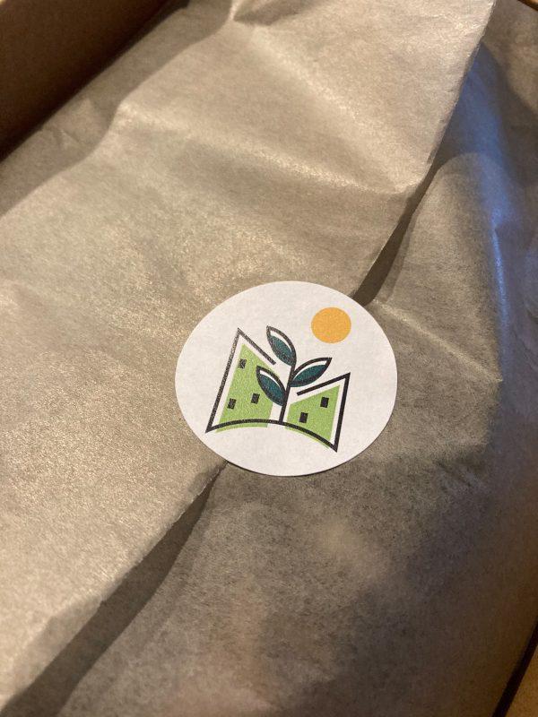Marvy Green Gift Box met Blumat