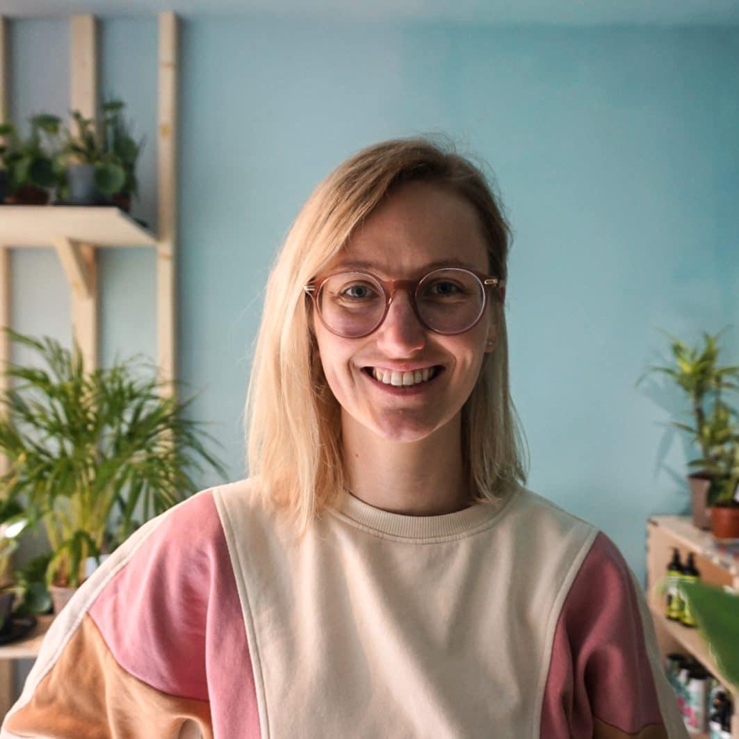 Marvy Green team member Lieke van Wilpen