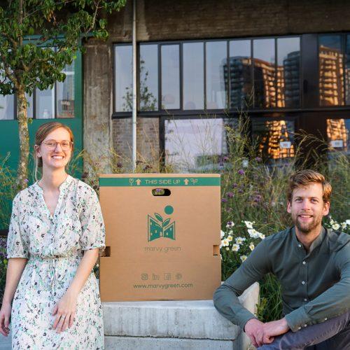 Founders Marvy Green - Winfried de Coo en Lieke van Wilpen